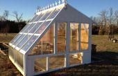 Invernadero de jardín de windows recuperadas