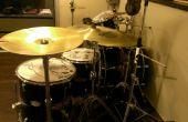 Pintar el kit de tambor - pintando su envoltura de tambor
