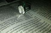 Cómo hacer diamantes anillo de