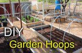 Hacer jardín cama aros