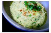 Picante Cilantro blanco Bean Hummus