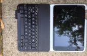 DIY: Agregar mayor agarre para un teclado de Logitech, para un iPad Mini.