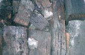 Hacer tu propio carbón (también conocido como carbón de terrón)
