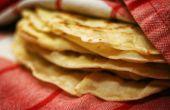 Comer buena comida: Hacer tus propias tortillas