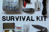 Kit de supervivencia al aire libre
