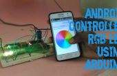 Android controla LEDs RGB con Arduino