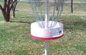 Un gran objetivo de construir en casa disco Golf (o un mejor uso para los tambores de 55 gal.)
