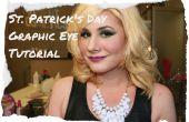 Tutorial de maquillaje de ojo gráfico de día de San Patricio!