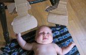 Códigos de barras para los bebés: un móvil de cajas