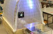 Invernadero hidropónico sistema de monitoreo y Control