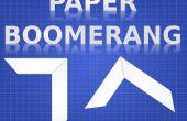 BOOMERANG de papel