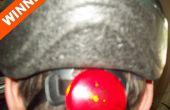 Agregar una luz de seguridad intermitente a su casco de la bici