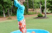 Actividad de los niños al aire libre: Diversión sensorial del agua