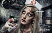 Enfermera muerta - Tutorial de maquillaje SFX