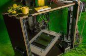 Impresora 3D DIY delta usando partes recicladas bajo costo