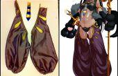 ¿Vinilo o Spandex sobre espuma para Cosplay/vestuario (armadura, pensionistas uniforme, tubería)