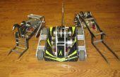 Nyx, 30 libras lucha contra Robot re-hecho