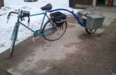 Acoplado de la bicicleta de una sola rueda
