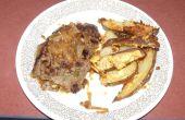 Fácil Salsbury filete o hamburguesa con alusiones de grandeza