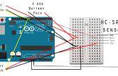 Cómo construir obstáculos evitando Robot para principiantes con Arduino Tutorial