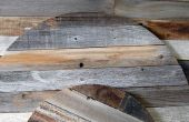 Reciclado de paneles de madera