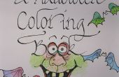 LIBRO de colorear de HALLOWEEN