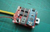 Soldador del punto de la batería de Arduino DIY