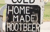 Cerveza casera de raíz