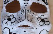 Día fácil de las máscaras de muertos (día de los Muertos)