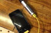 Cargador USB de sable de luz