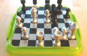 Magnéticos juego de ajedrez de viaje