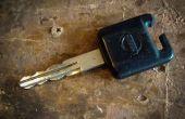 Arreglar una llave de coche roto