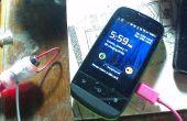 Cómo cargar el teléfono durante el corte de energía