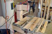 Construyendo a un cajón diapositiva CNC máquina por menos de $200!