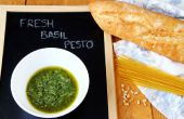 Caseros Pesto de albahaca fresca (Pesto verde)