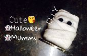 Momias de Halloween lindo DIY! (De las baterías agotadas!!)