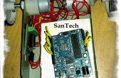 Android + Arduino + bluetooth controlado RC juguete