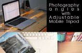 Ajustable trípode móvil, Foto de toTake de manera ٍEasy en reuniones