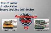 Cómo hacer inatacables arduino seguro dispositivo de IoT