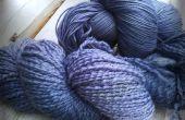 Colorante natural - moras - en lana