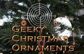 ¿Adornos de Navidad geek
