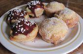 Cupcakes de Donut frito profunda