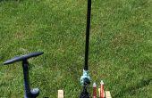 Lanzador de aire comprimido y los cohetes reutilizables