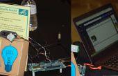 Movimiento de cámara de seguridad activada usando Intel Edison