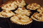 Sal caramelos Cupcakes