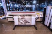 Guía muelle 9: Impresora Roland VersaCAMM vinilo