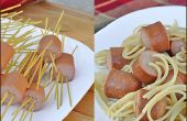 Espaguetis y albóndigas sin las albóndigas