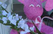 Sostenedor de la flor/pincel Sugru Bunny