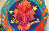 El rojo dragón Instructable