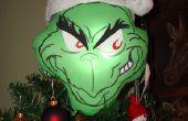 Grinch Navidad adorno de árbol de